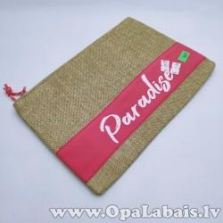 Kosmētikas soma ar uzrakstu Paradise