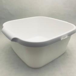 Plastmasas bļoda - balta