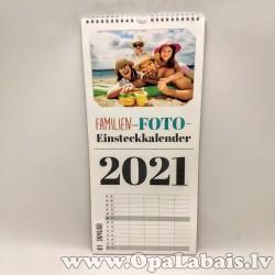 2021.gada kalendāra sagatave fotogrāfijām...