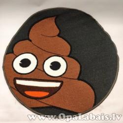 Bērnistabas paklājs ar Happy Poo