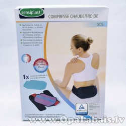 Sildošā/ dzesējošā komprese mugurai