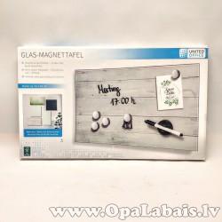 Magnētiskā stikla tāfele - dēļu fons