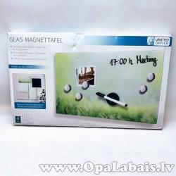 Magnētiskā stikla tāfele - pļavas fons