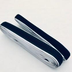 Pašlīmējošās lentes - melna, 1cm platums
