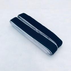 Pašlīmējošās lentes - melna, 2cm platums
