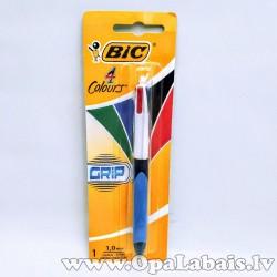 Tintes lodīšu pildspalva Bic Grip Medium...