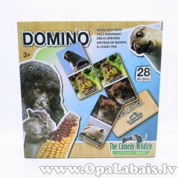 Koka domino - savvaļas dzīvnieki