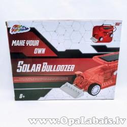 Saules enerģijas buldozers - izveido pats!