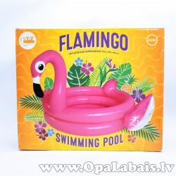 Piepūšamais baseins - flamingo