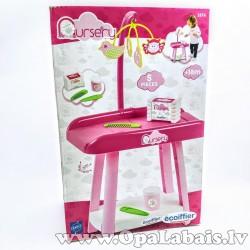 Rotaļu leļļu kumode/ kopšanas galdiņš