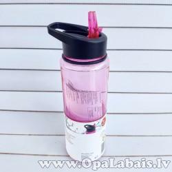 Sporta ūdens pudele (maigi rozā)