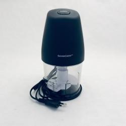 Mini izmēra smalcinātājs - melns