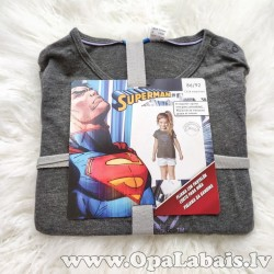 Kokvilnas pidžama (meiteņu, superman)