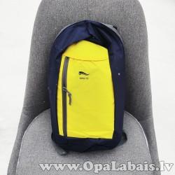 Mini mugursoma (tumši zila ar dzeltenu) 10l