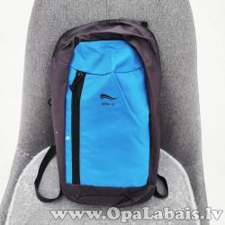 Mini mugursoma (melna ar gaiši zilu) 10l