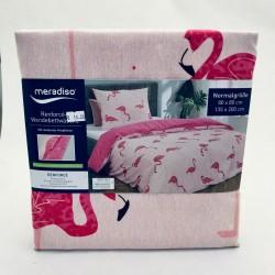 Gultas veļas komplekts - flamingo