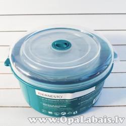 Trauki mikroviļņu krāsnij (3 gb., gaiši zili)