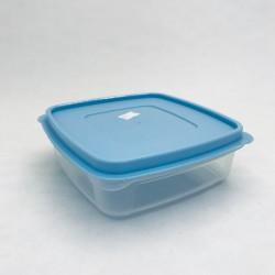 Plastmasas trauks ar vāku - zils