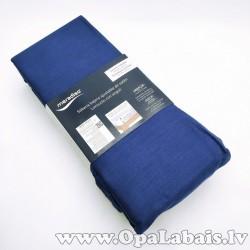 Palags ar gumiju (tumši zils, 90-100 x 200...