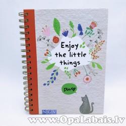 """Dienasgrāmata """"Enjoy the little things"""""""