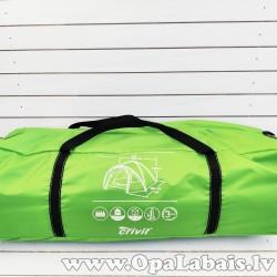 Telts 4 personām (zaļa)