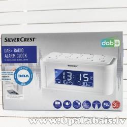 DAB/FM modinātājpulkstenis (balts)