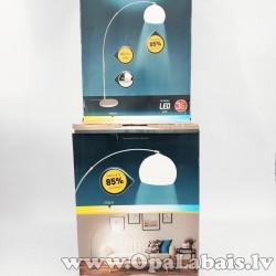 LED grīdas lampa ar līkumu
