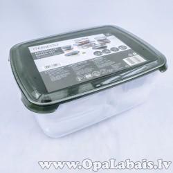 Ēdienu uzglabāšanas trauku komplekts (13 gb.)