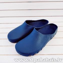 Dārza apavi (zili ar brūnu zoli)