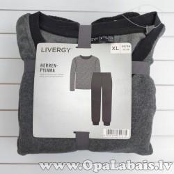 Vīriešu frotē pidžama (pelēka, XL, 56/58...