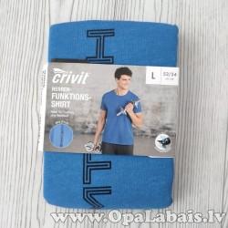 Vīriešu funkcionalais t-krekls (zils,...
