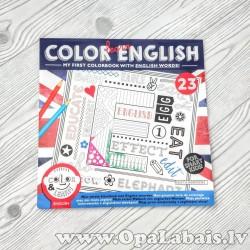 Krāsojamā grāmata angļu valodas apgūšanai