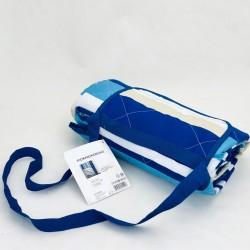 Piknika sedziņa - zila/gaiši zila