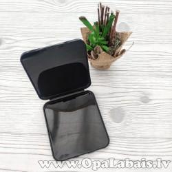 Kabatas izmēra kastīte sejas maskai (melna)