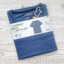 Vīriešu t-krekls (zils, M, 48/50 EUR)