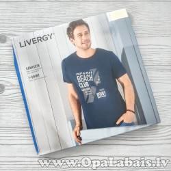 Vīriešu t-krekls (tumši zils, Beach Club)