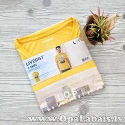 Vīriešu t-krekls LOS ANGELES (dzeltens,...