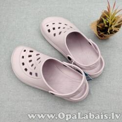 Iešļūcenes/ dārza apavi (krēmīgi violetā...