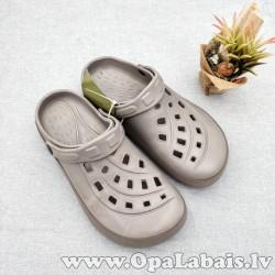 Iešļūcenes/ dārza apavi (gaiši pelēki)