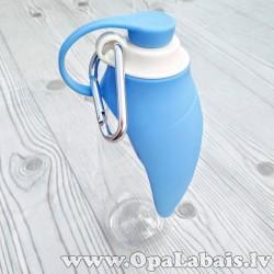 Padzeršanās pudele suņiem (zila)