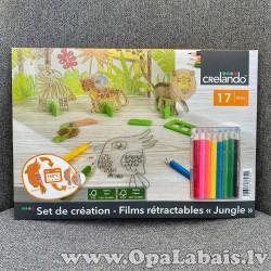 Rokdarbu komplekts bērniem - džungļi