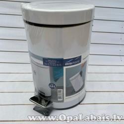 Kosmētikas atkritumu tvertne (balta)