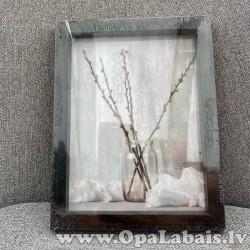 Foto rāmītis (20x15) melns (B)