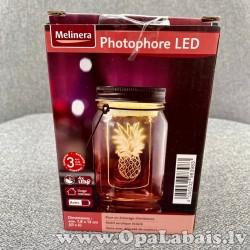 LED dekoratīvais stikls