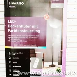 LED grīdas lampa ar pulti (180cm)