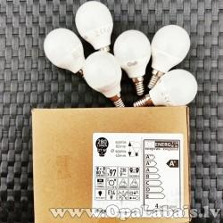 6 LED spuldzes  (A+ klase, E14, 280 lm,...