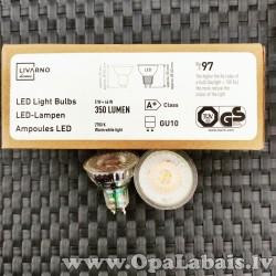 6 LED spuldzes  (A+ klase,GU10, 350 lm,...