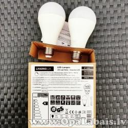 2 LED spuldzes  (A+ klase, E27, 1400 lm,...