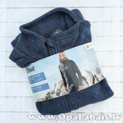 Adīta flīsa jaka (zila)