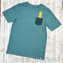 Vīriešu t-krekls (ar dekoratīvu kabatu)